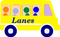 Lanes Coaches graphic